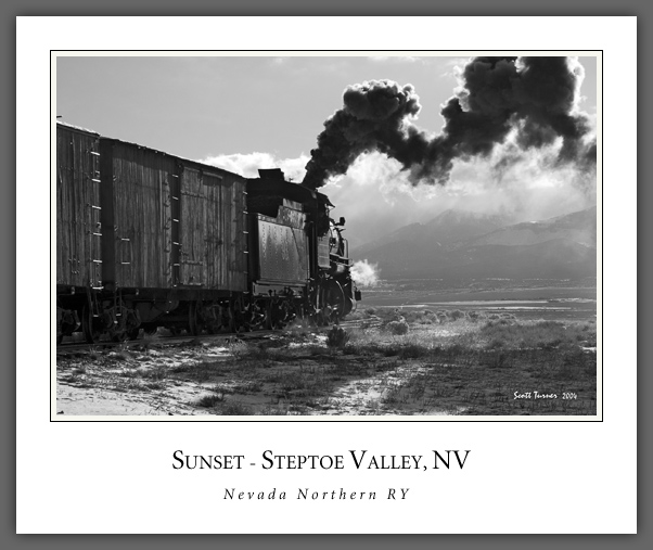 Enter Western Steam Photography for fine art photographs of steam railroads and trains